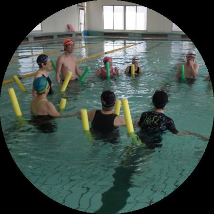 腰痛水泳クラス